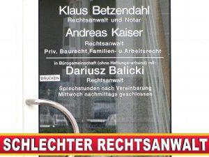 RECHTSANWALT ANDREAS KAISER Carl Severing Straße Bielefeld (1)