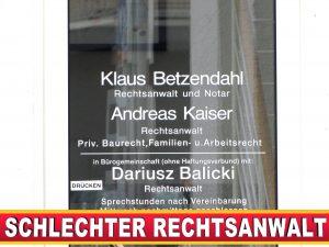 RECHTSANWALT ANDREAS KAISER Carl Severing Straße Bielefeld (2)