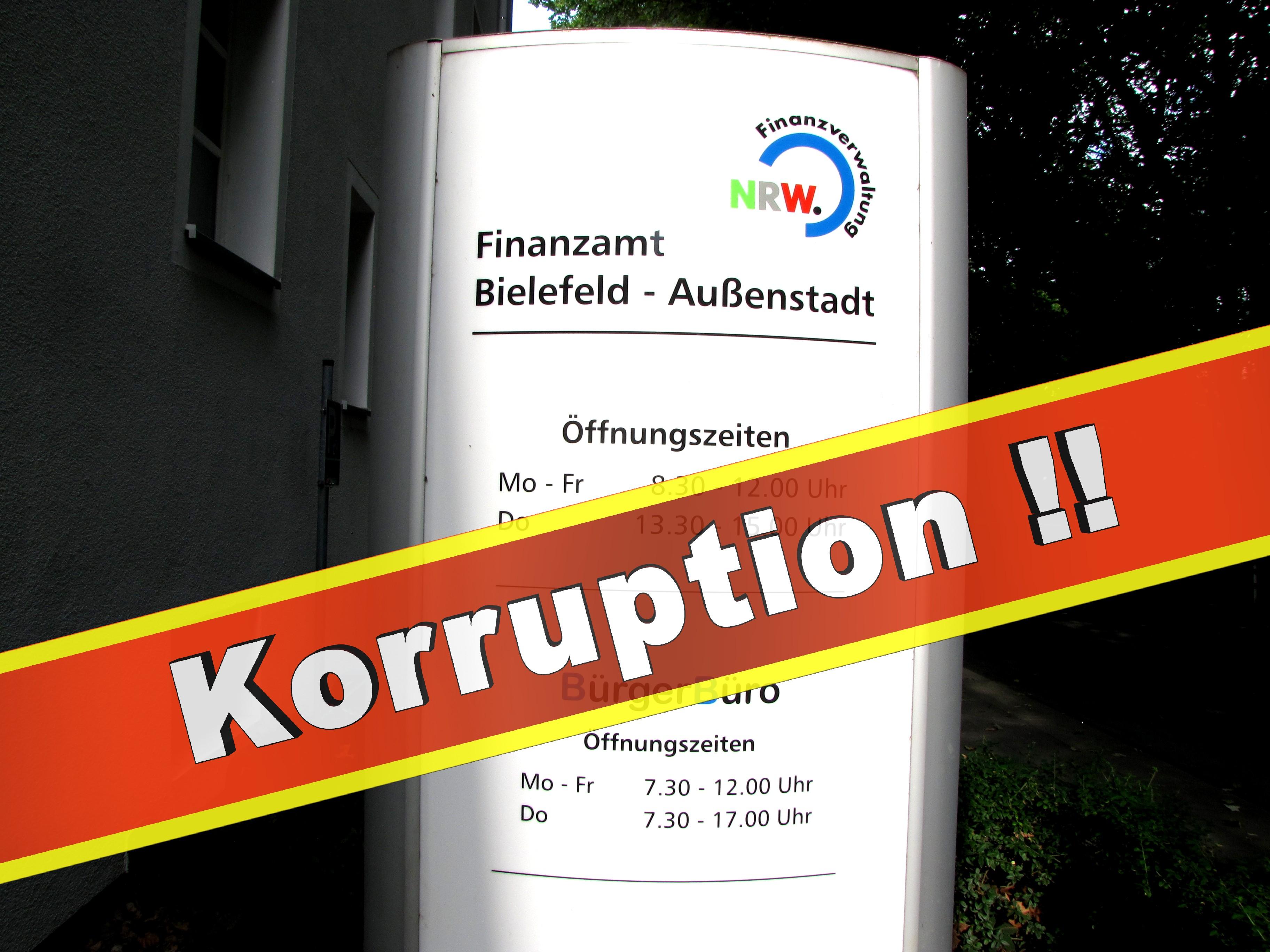 Finanzamt Bielefeld Innenstadt Finanzamt Bielefeld Außenstadt