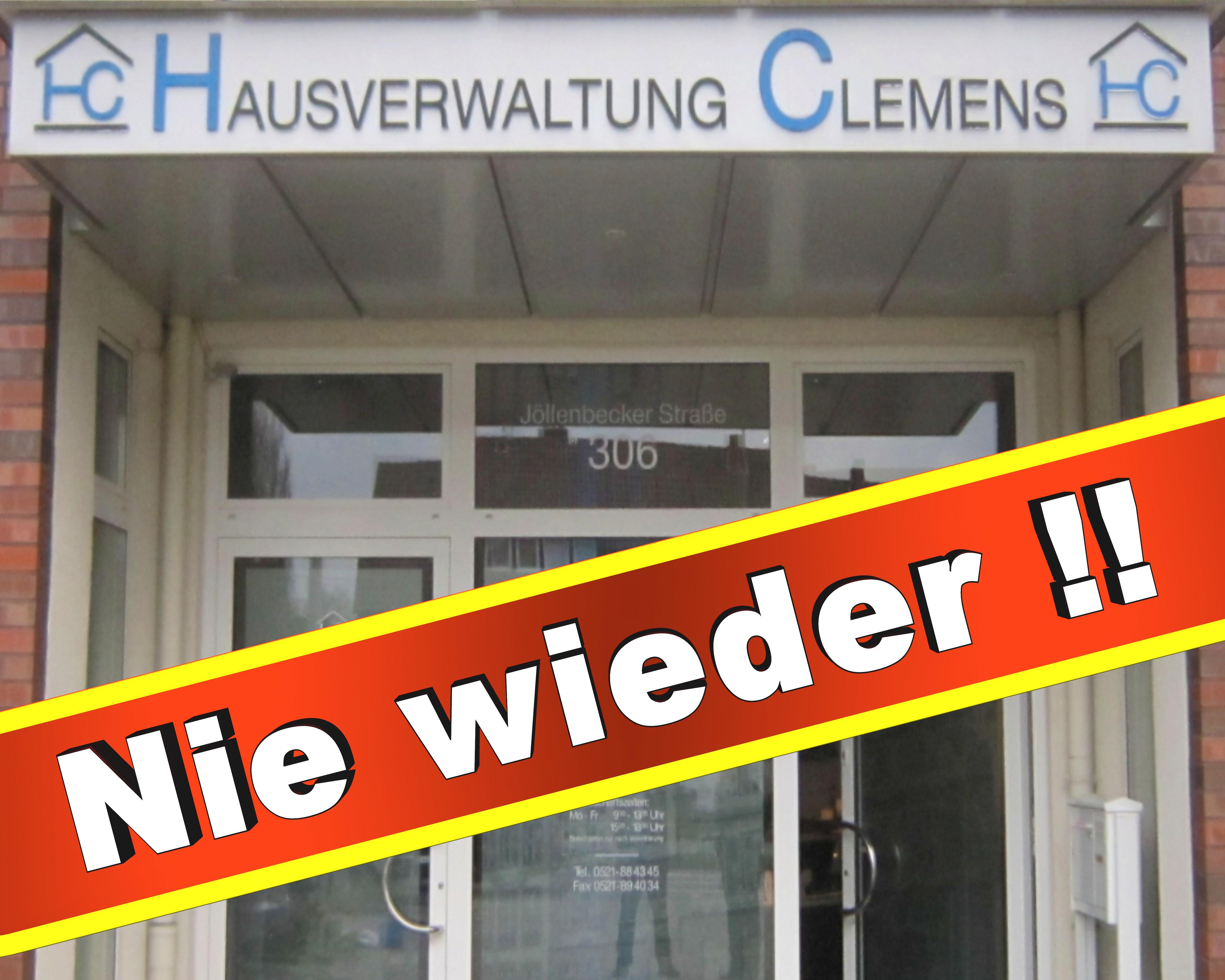 Hausverwaltung Clemens Bielefeld Jöllenbecker Str 306, 33613 Bielefeld Grundstücksverwaltung Hausverwaltungen (1)