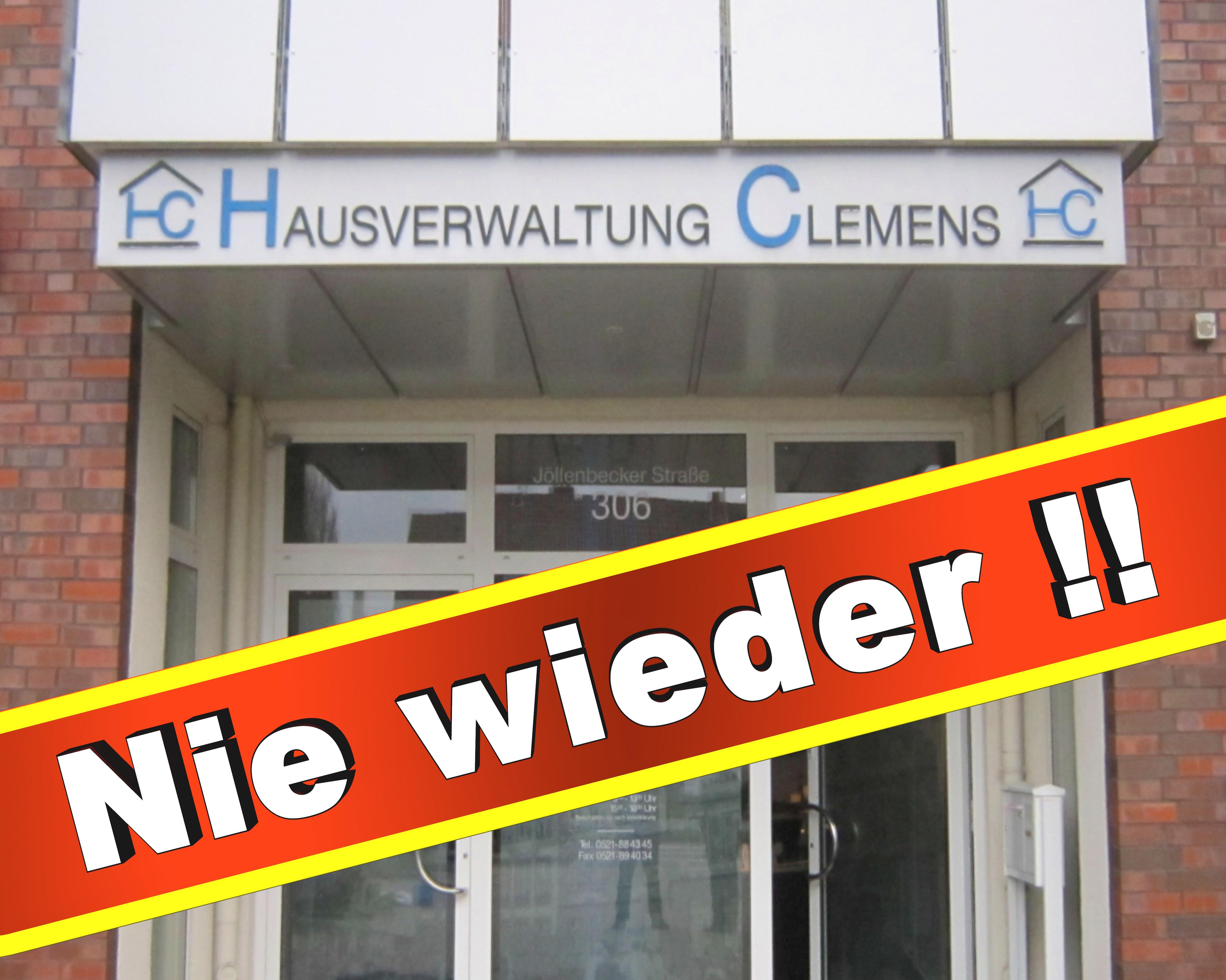 Hausverwaltung Clemens Bielefeld Jöllenbecker Str 306, 33613 Bielefeld Grundstücksverwaltung Hausverwaltungen
