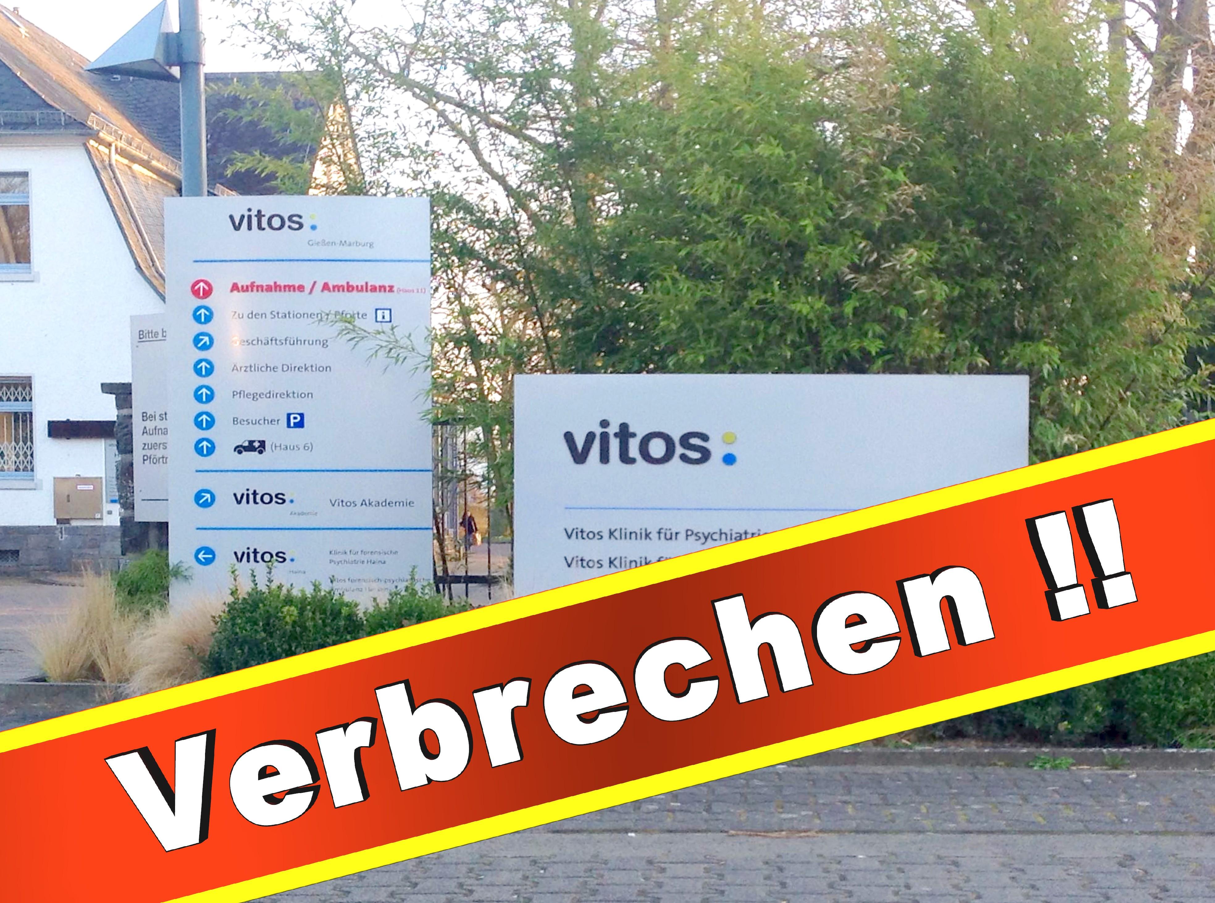 Psychiatrie Vitos Gießen Marburg Psychiater, Klinik, Anstalt, Presse, Bilder, Fotos, (1)