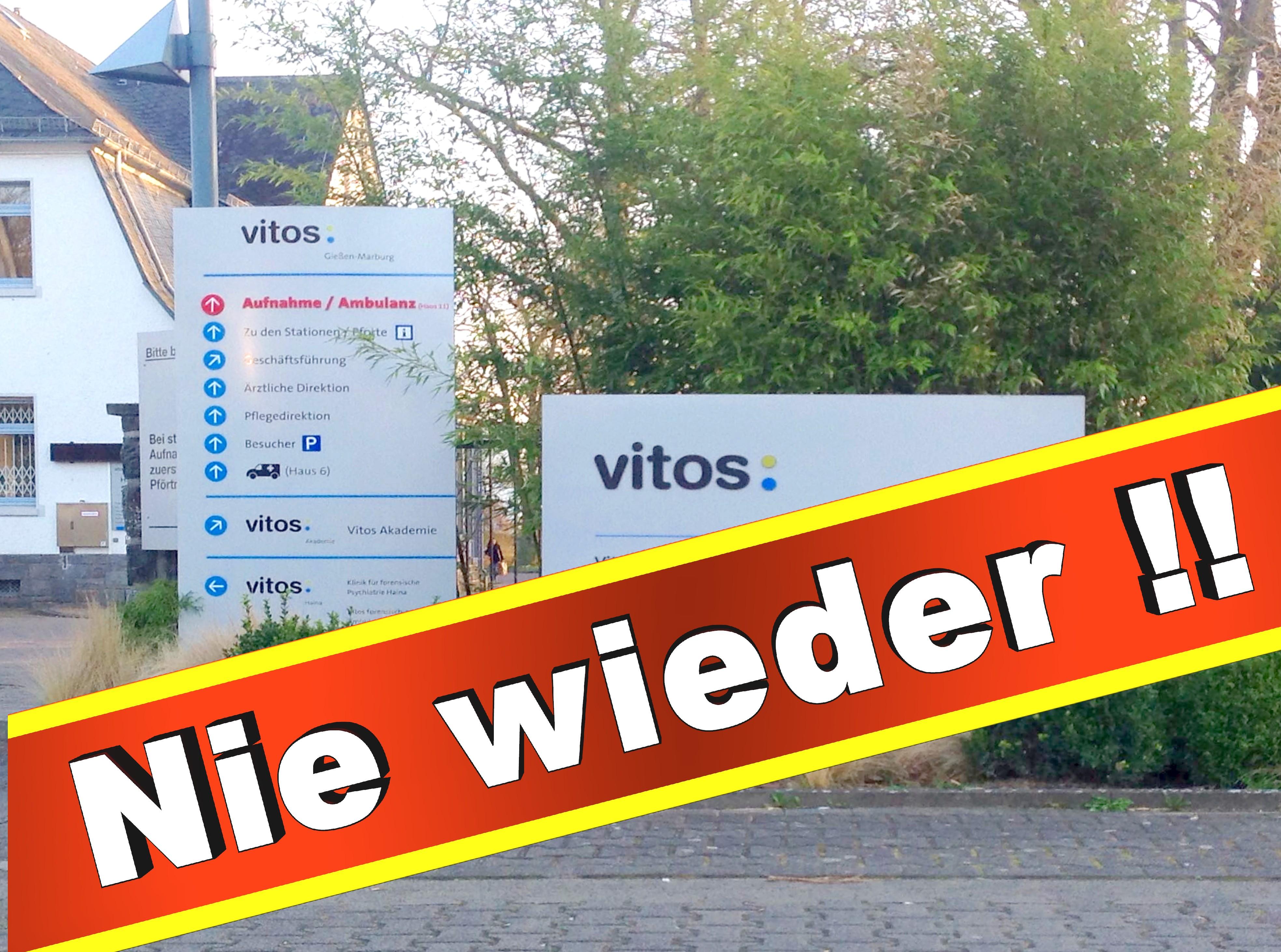 Psychiatrie Vitos Gießen Marburg Psychiater, Klinik, Anstalt, Presse, Bilder, Fotos,