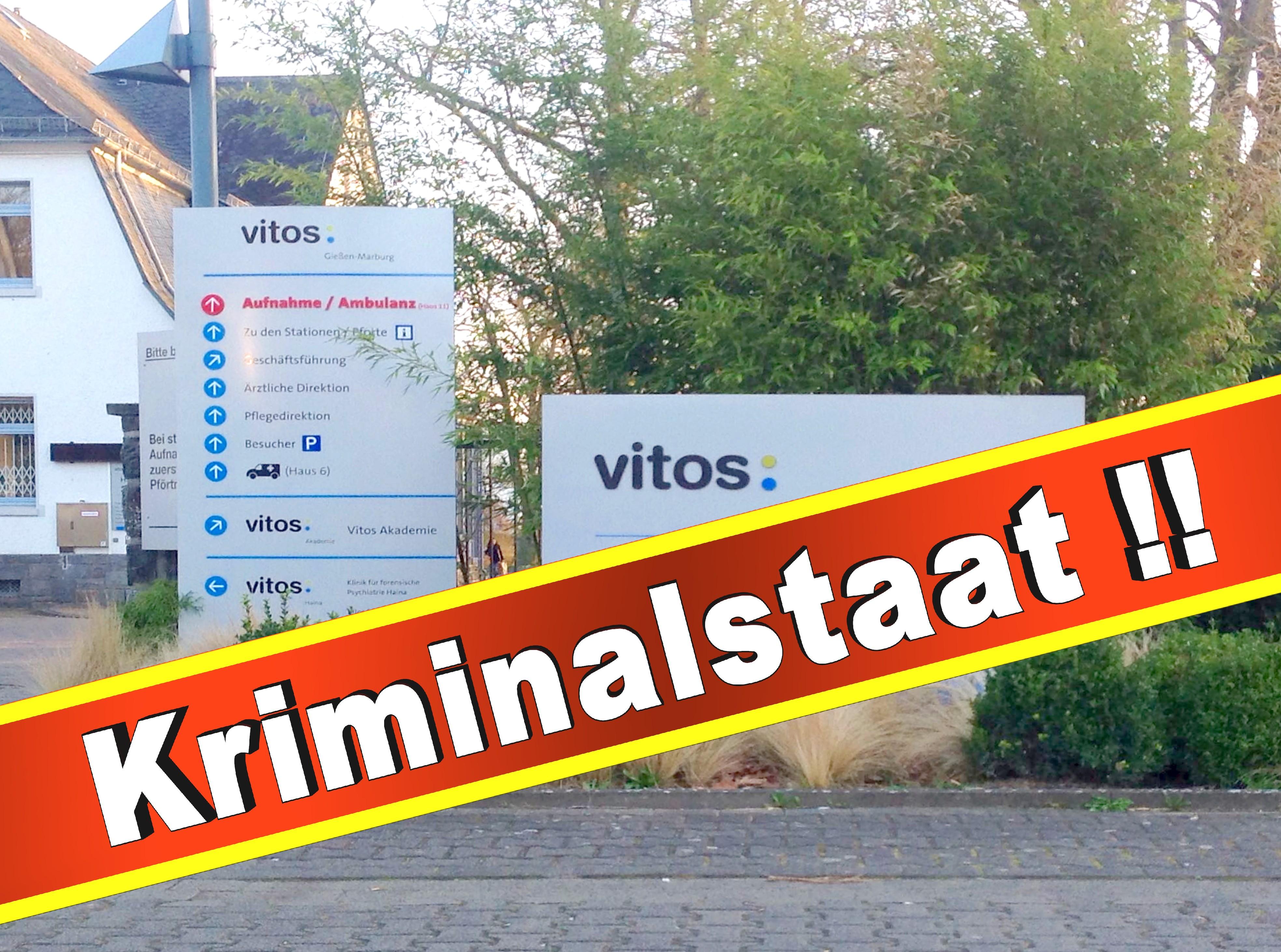 Psychiatrie Vitos Gießen Marburg Psychiater, Klinik, Anstalt, Presse, Bilder, Fotos, Folter, Misshandlungen