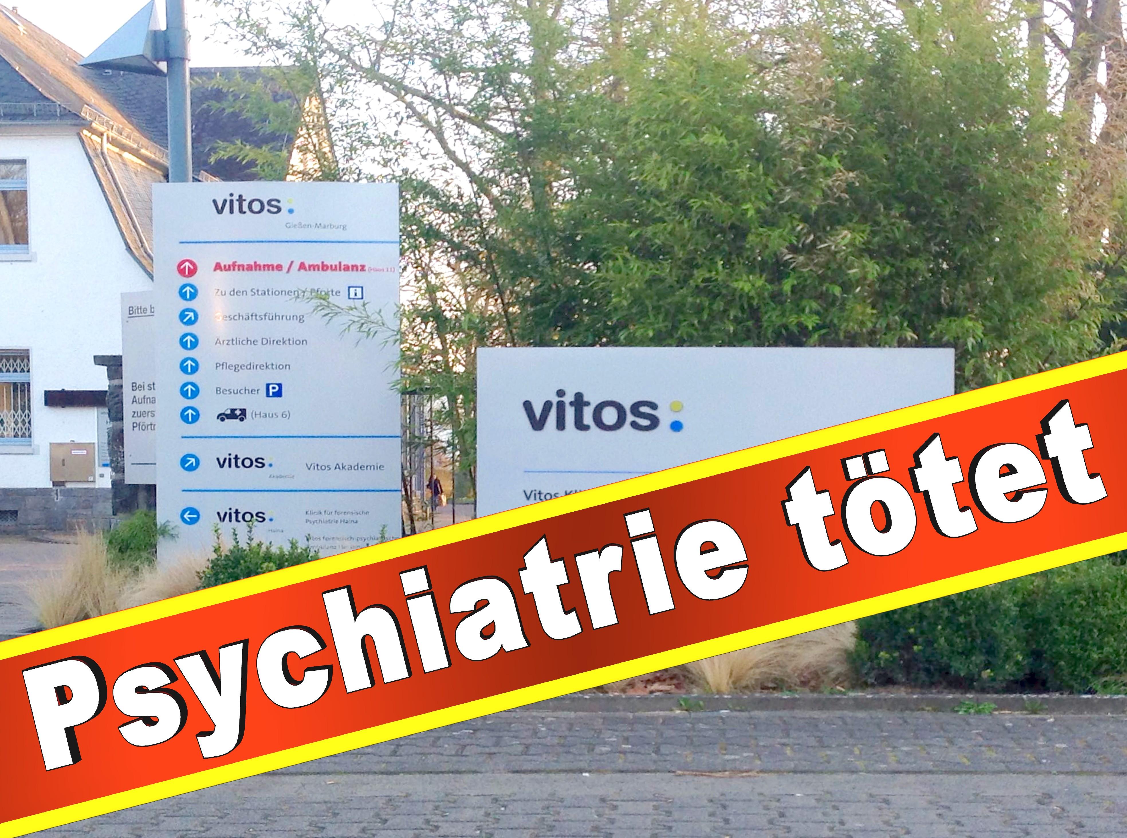 Psychiatrie Vitos Gießen Marburg Psychiater, Klinik, Anstalt, Presse, Bilder, Fotos