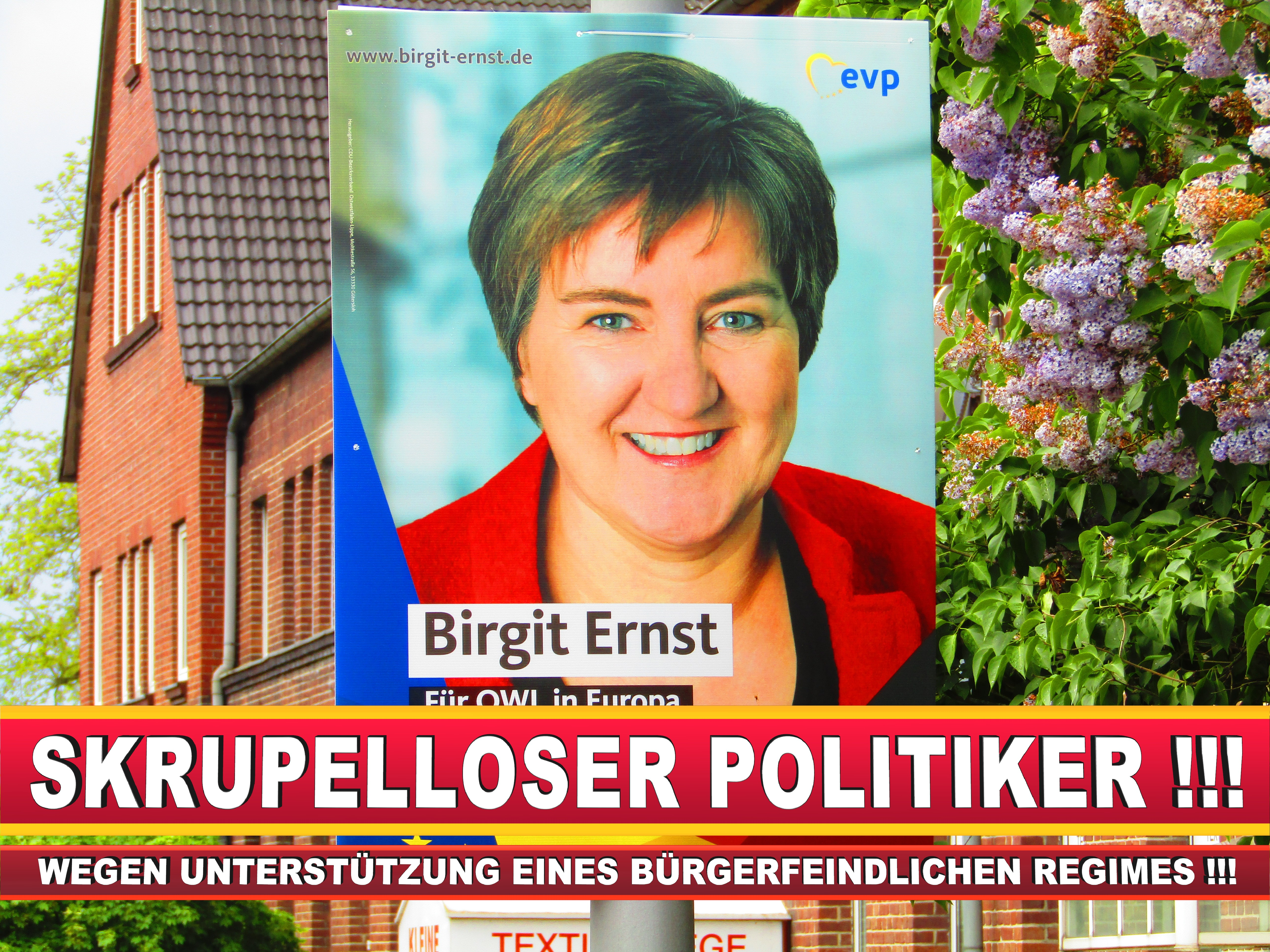 Europawahl Deutschland Birgit Ernst CDU (11)