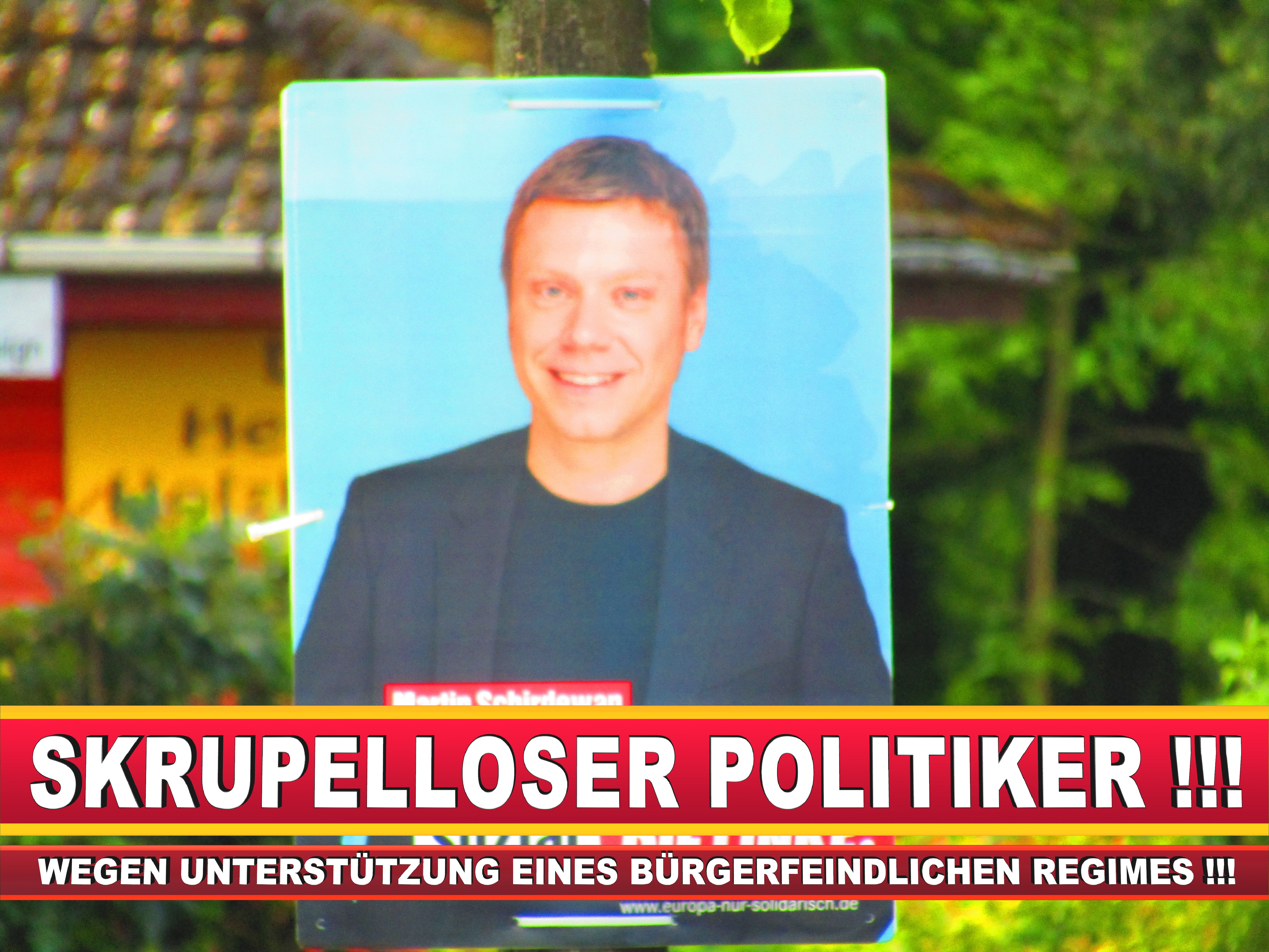Europawahl Deutschland Wahlplakate CDU SPD FDP Grüne Linke AfD (23)