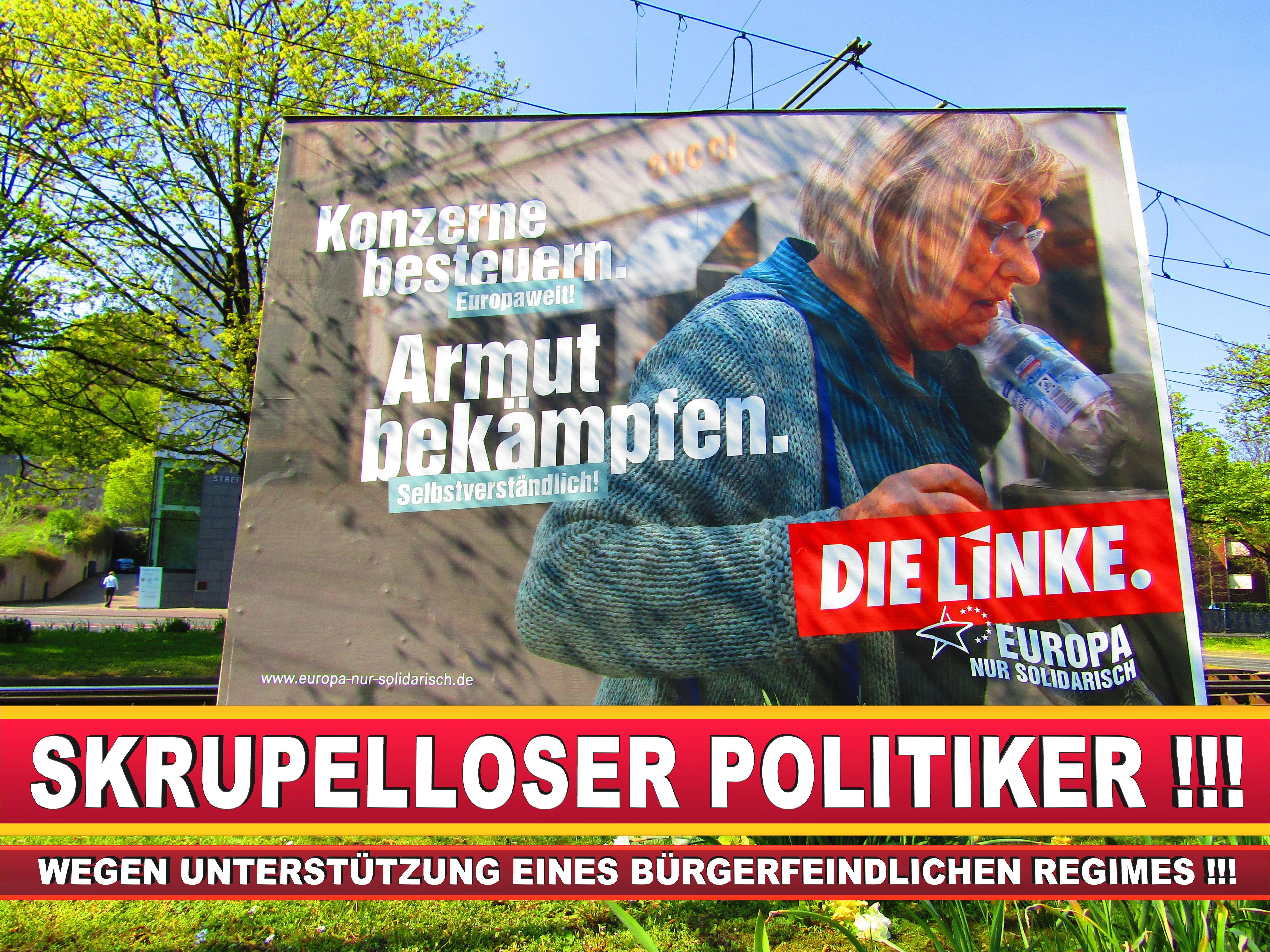 Europawahl Deutschland Wahlplakate CDU SPD FDP Grüne Linke AfD (30)