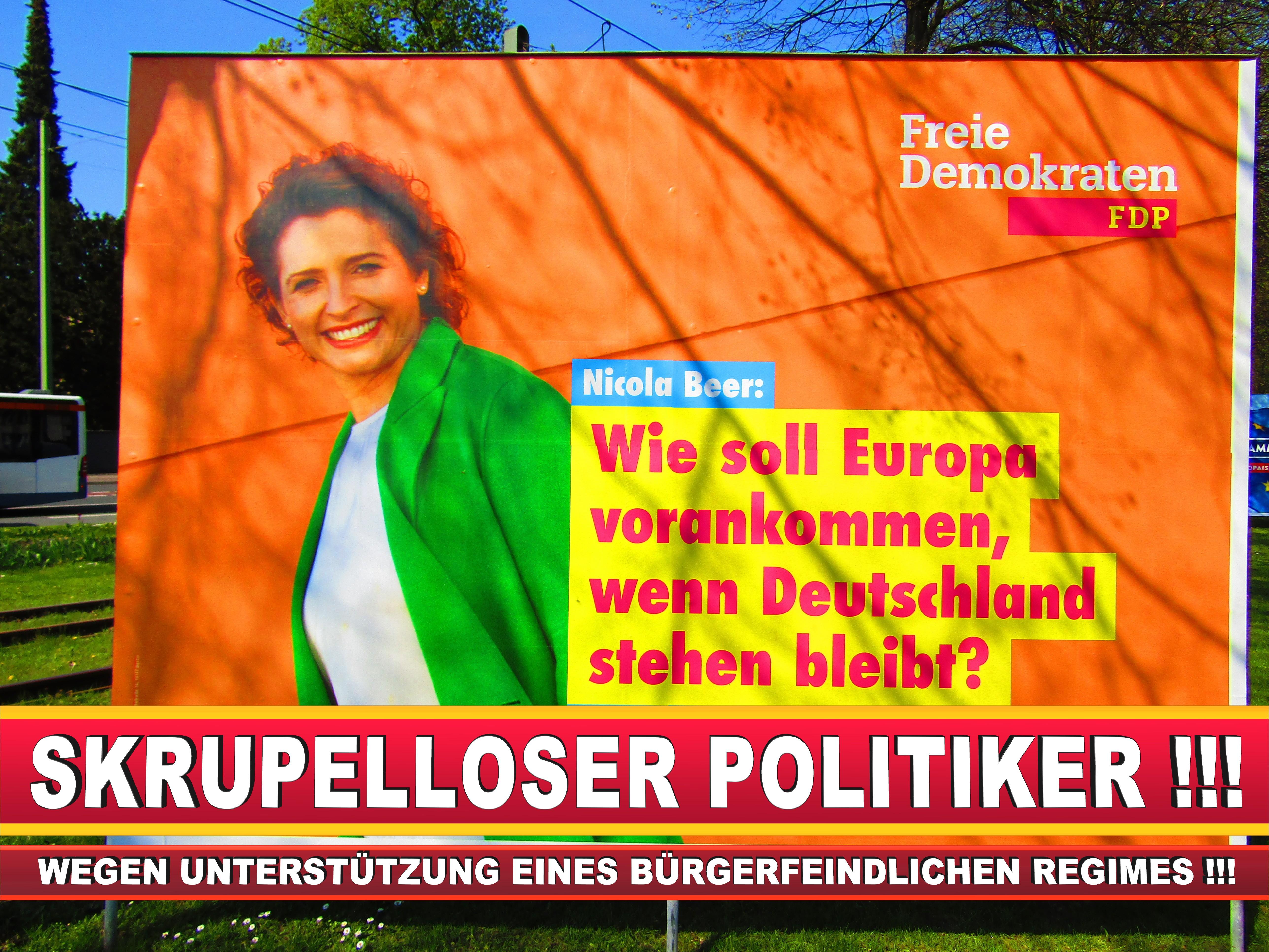 Europawahl Deutschland Wahlplakate CDU SPD FDP Grüne Linke AfD (35)