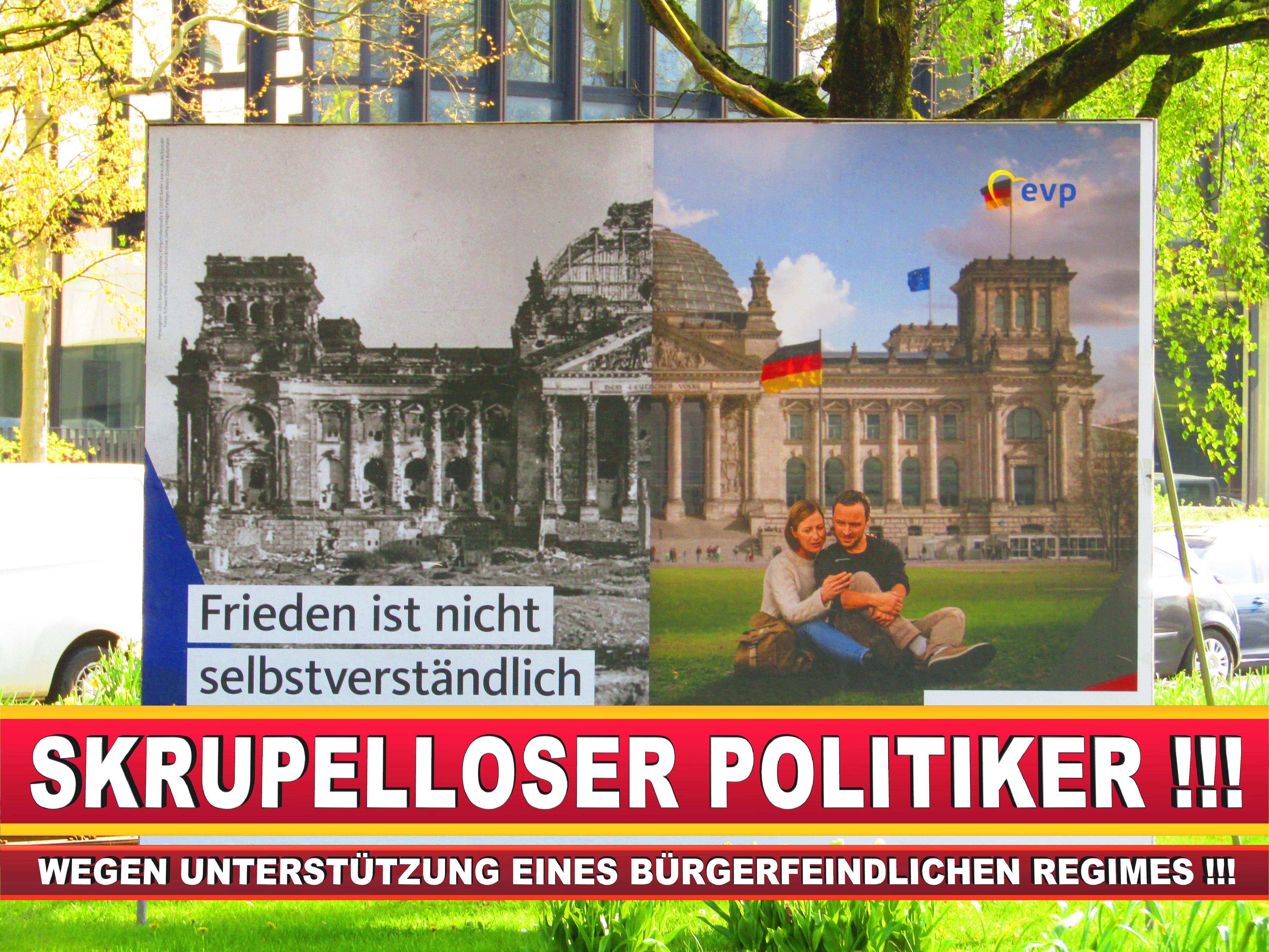 Europawahl Deutschland Wahlplakate CDU SPD FDP Grüne Linke AfD (63)
