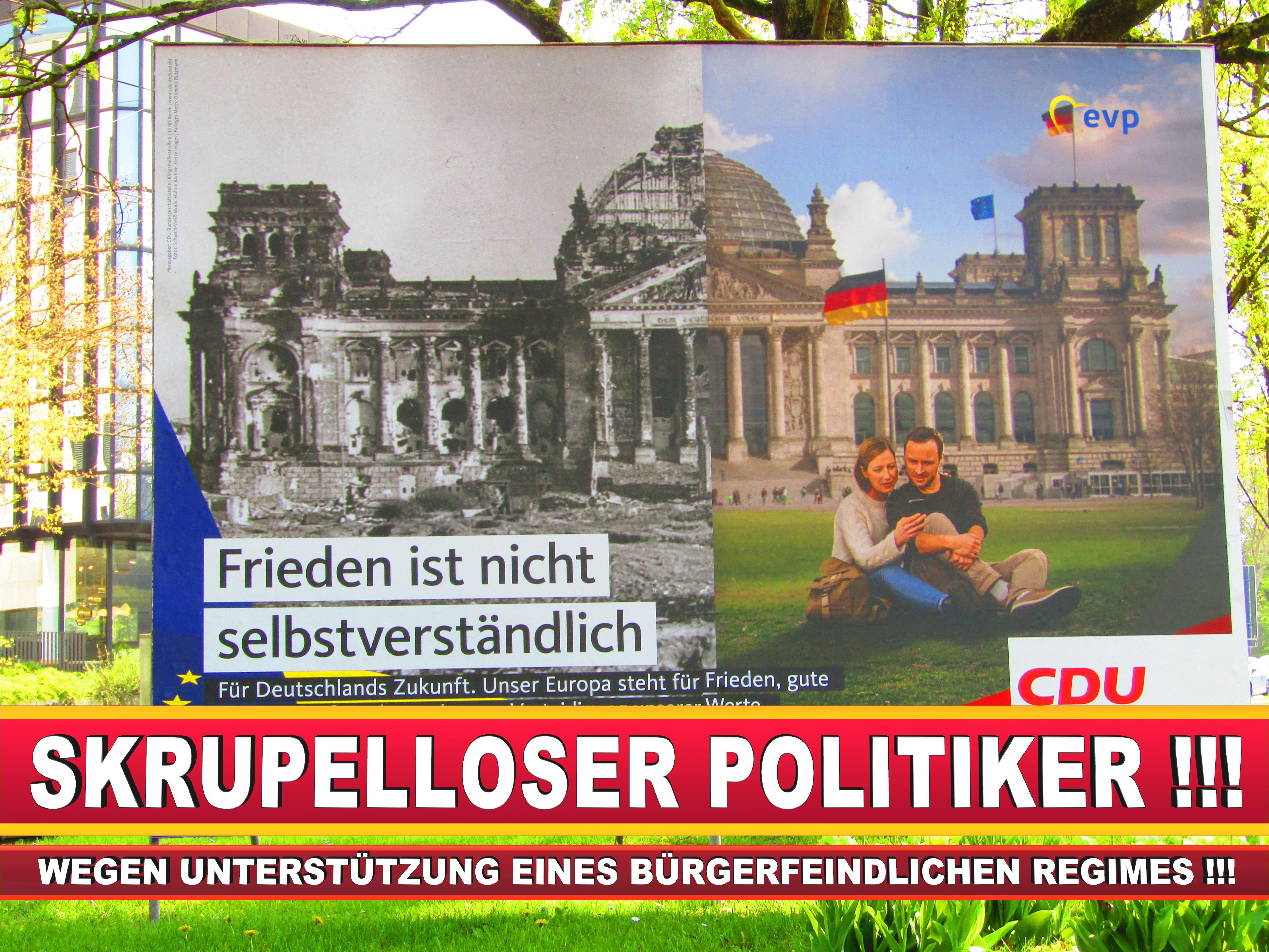 Europawahl Deutschland Wahlplakate CDU SPD FDP Grüne Linke AfD (64)