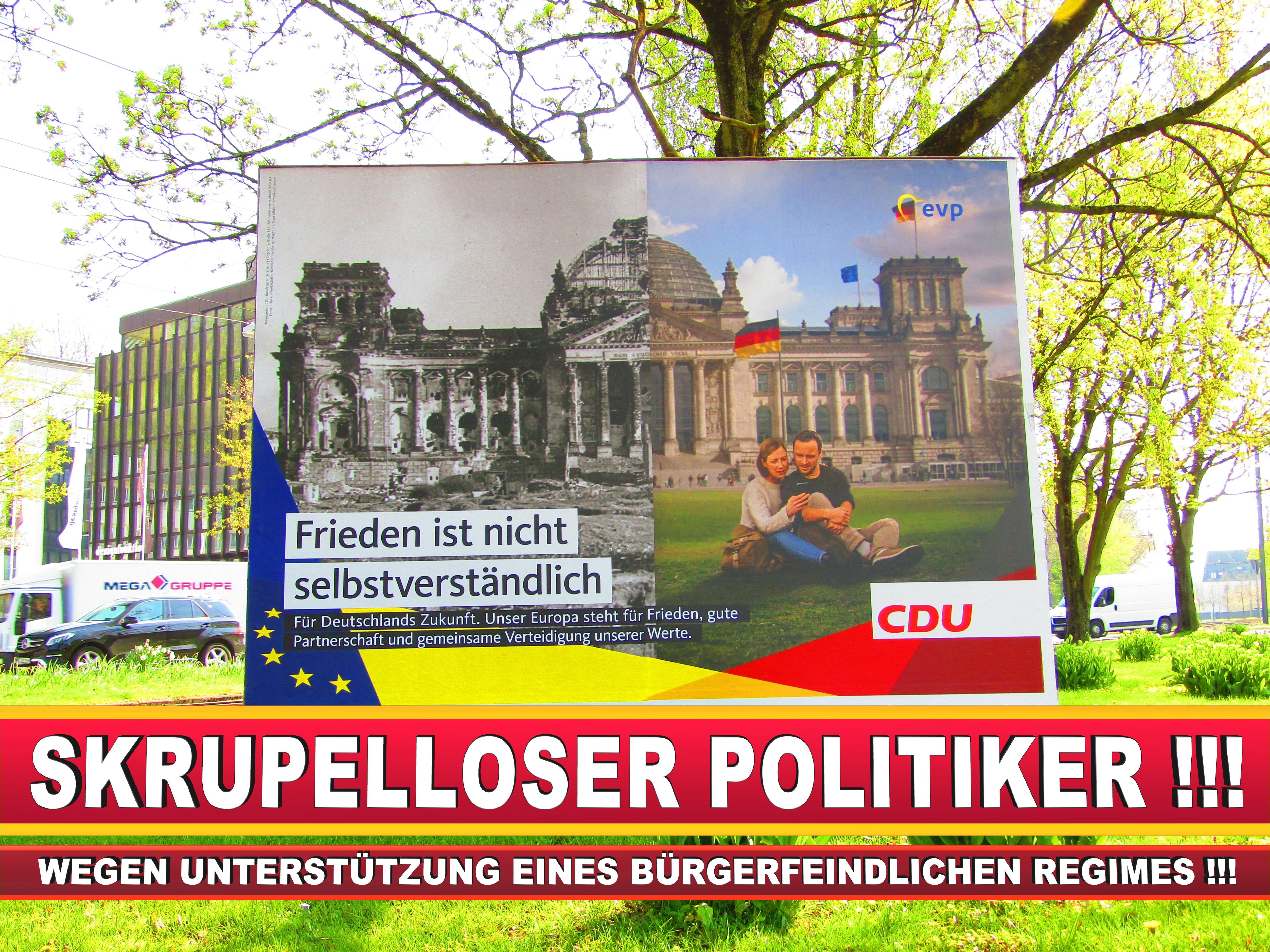 Europawahl Deutschland Wahlplakate CDU SPD FDP Grüne Linke AfD (66)