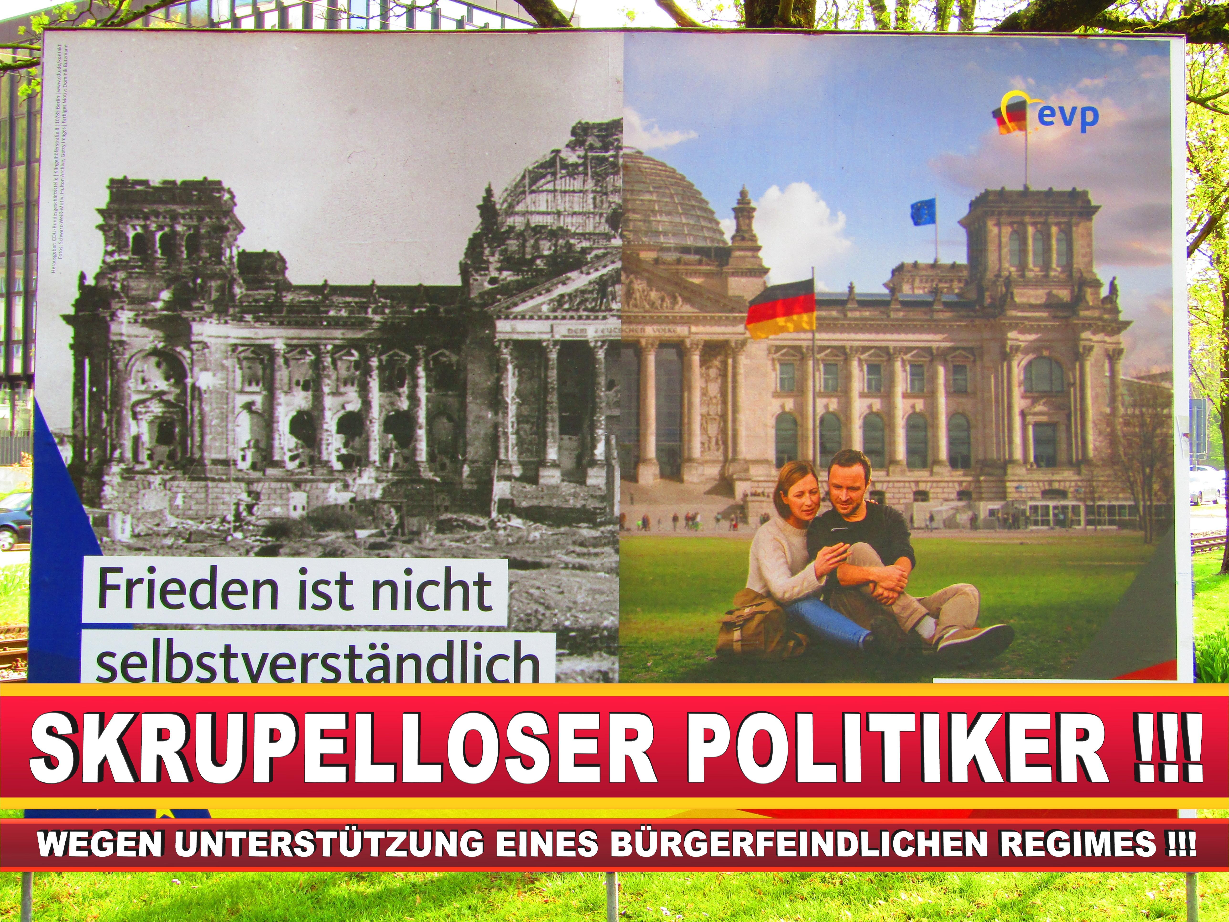Europawahl Deutschland Wahlplakate CDU SPD FDP Grüne Linke AfD (69)