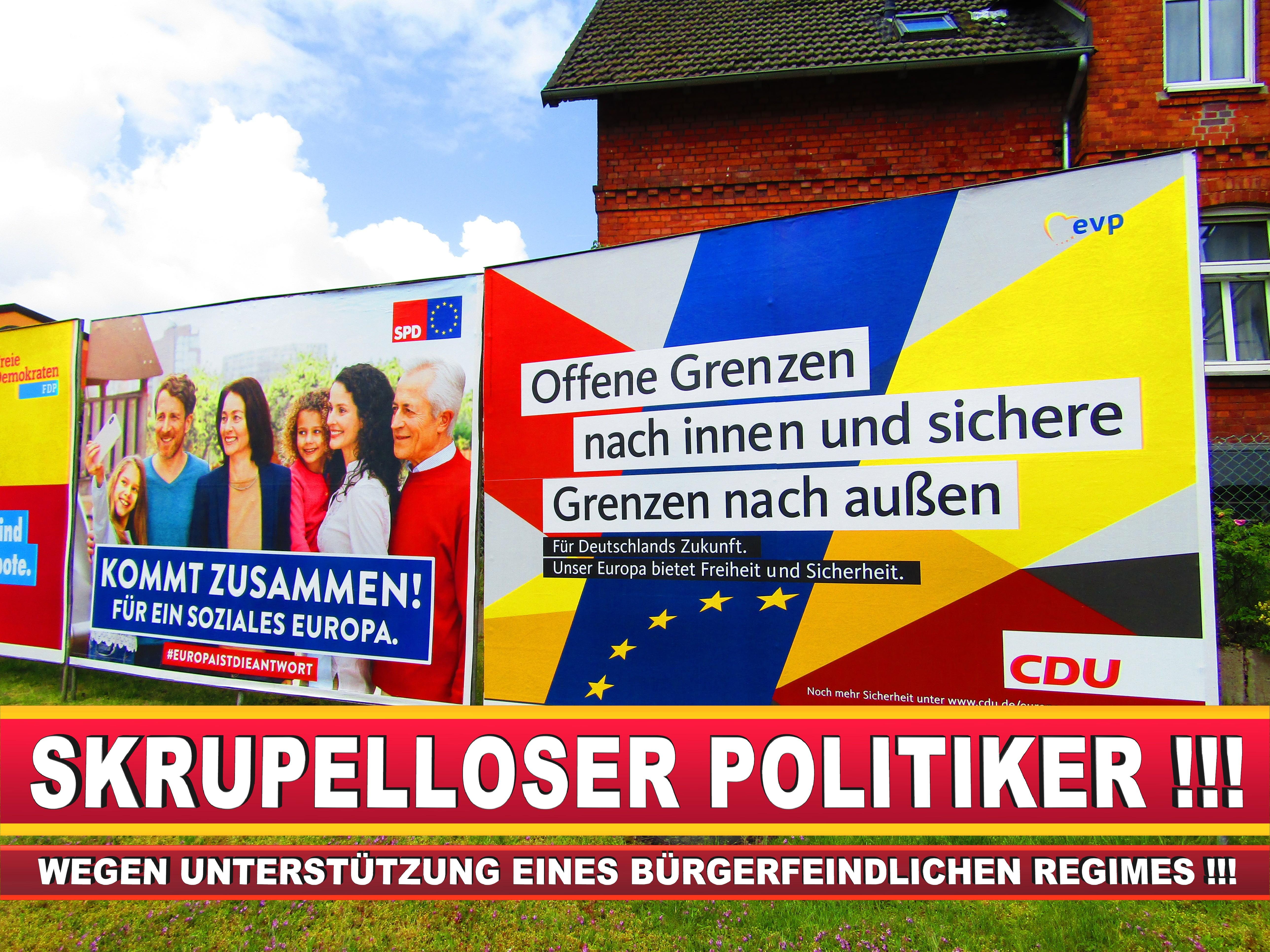 Europawahl Deutschland Wahlplakate CDU SPD FDP Grüne Linke AfD (7)
