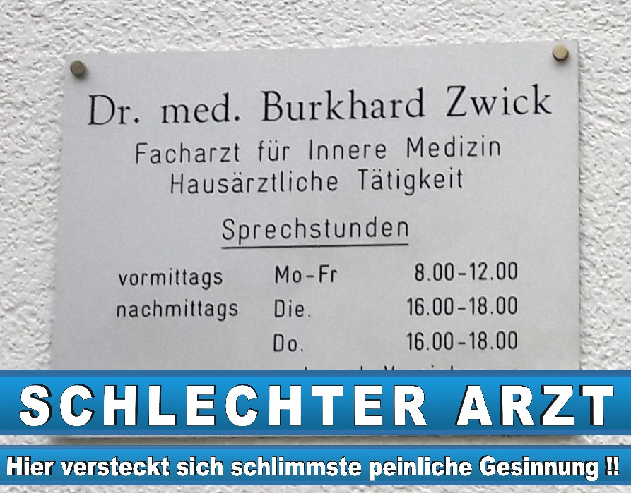 Dr Med Burkhard Zwick Goethestraße 96465 Neustadt 2